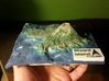 Wizard Island Map 3d printed