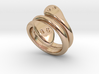 Ring Cobra 17 - Italian Size 17 3d printed