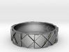 Futuristic Rhombus Ring Size 14 3d printed