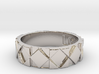 Futuristic Rhombus Ring Size 9 3d printed