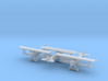 1/285 Fokker DVII  x3 3d printed