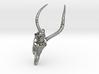 Impala Skull Pendant 3d printed