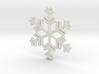 Snowflakes Series II: No. 12 3d printed