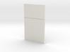 Blank Wall; Half 3d printed