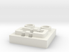 LEGO® Power Functions-compatible socket base 3d printed