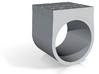 YOUTH Brick Ring - Sz. 6 3d printed