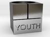 YOUTH Brick Ring - Sz. 5 3d printed