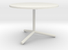 """1:24 36"""" Cafe Table 3d printed"""