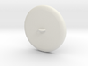 Button Plain Base WithRing Inches Remeshed 3d printed