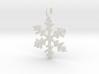 Snowflake Charm 1 3d printed