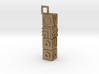 Monument Valley Totem Keychain 3d printed