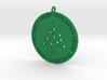 Christmas Ball with tree 3d printed