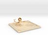 """Lala """"Relaxing in Swimming Pool"""" - DeskToys 3d printed"""