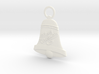 Bell Christmas Ornament 3d printed