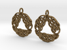 Celtic Arch earrings 3d printed