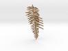 Sword Fern Comb 3d printed