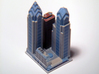 Liberty Place at 1600 Market St - Phladelphia, PA 3d printed 3d printed block, aerial view.