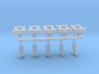 1/64 ripper shanks, horizontal spring reset 3d printed