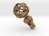 iFTBL Zero / The One 3d printed Raw Brass / For other materials and prices... please click on material icons.