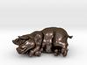 "SLEEPING PIG 2 "" tall 3d printed"