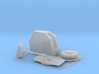 """4.5"""" Stealth Turret 1/144 3d printed"""