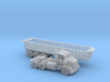 Trash Trailer With Semi N Scale 3d printed Trash Trailer with Semi N scale