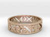 Size 12 Xoxo Ring A 3d printed