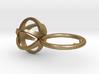 3D MINI STAR GLITZ SPARKLE RING - size 6 3d printed