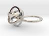 3D STAR GLITZ SPARKLE RING - size 6 3d printed