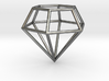Diamond Frame Pendant 3d printed