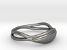 Silver Solid Ring Al 3d printed