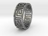 KlFingMäanderBor Ring Size 8.5 3d printed