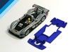 1/32 Carrera Audi R8R / Bentley Chassis 3d printed Chassis compatible with Carrera Audi R8R or Bentley EXP Speed     body (not included)