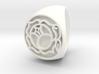 Utena Signet Ring Size 4.5  3d printed