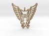 Tribal Owl Pendant 3d printed