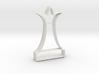 Cookie Cutter - Chess Piece Queen 3d printed