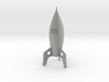 Retro Rocket Ship 3d printed