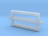 1:24 Heywood 2x4 Basic Car Frame w/ L&P Couplers 3d printed