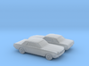 1/148 2X 1964 Ford Mustang GT 3d printed