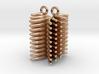 FUR - earrings 3d printed