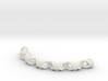 Double Helix Bracelet 3d printed