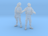 1-35 Military Zombie Set 3 3d printed