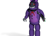Withered Bonnie 3d printed