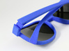 Glasses Frame with customizable Inscription 3d printed
