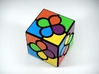 Lucky Clover Cube Puzzle 3d printed Scrambled