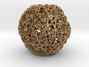30 Cuboctahedron Compound, Wireframe 3d printed