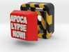 Full Color Button of APOCALYPSE NOW 3d printed
