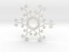 Suessish Snow Flake - 7cm 3d printed
