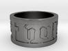 DeusVult Ring omega SIZE10 3d printed