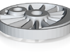 Hjul H-maskine Spor0 - Bagereste Kobbelhjul-1 3d printed